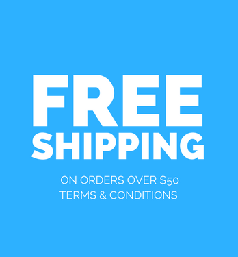 *FREE SHIPPING ON ORDERS OVER $50