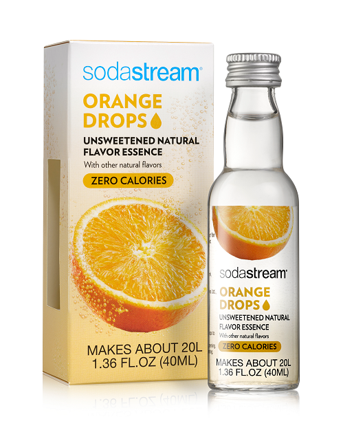 SodaStream Fruit Drops (Orange)