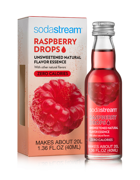 SodaStream Fruit Drops - Raspberry (Sugar-free)