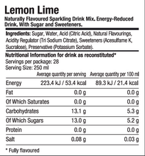 SodaStream Classics Lemon Lime Drink Mix - BB 02/10/2021