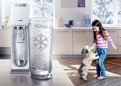 SodaStream Power White Sparkling Water Maker