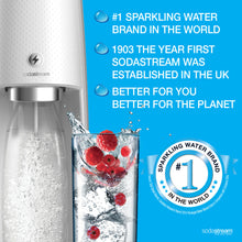 SodaStream Spirit One Touch White Sparkling Water Maker (Electrical Model)