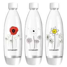 SodaStream Bottles 1L Trio White Fuse Winter Flowers