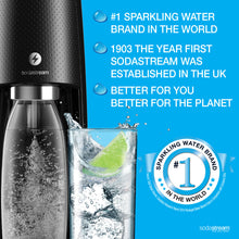 SodaStream Spirit One Touch Black Sparkling Water Maker (Electrical Model)