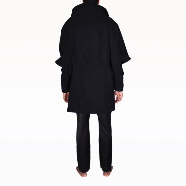 Back of Black Rob Coat