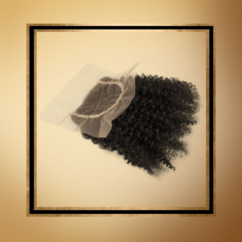 Nubian Curl Lace Closure 4x4