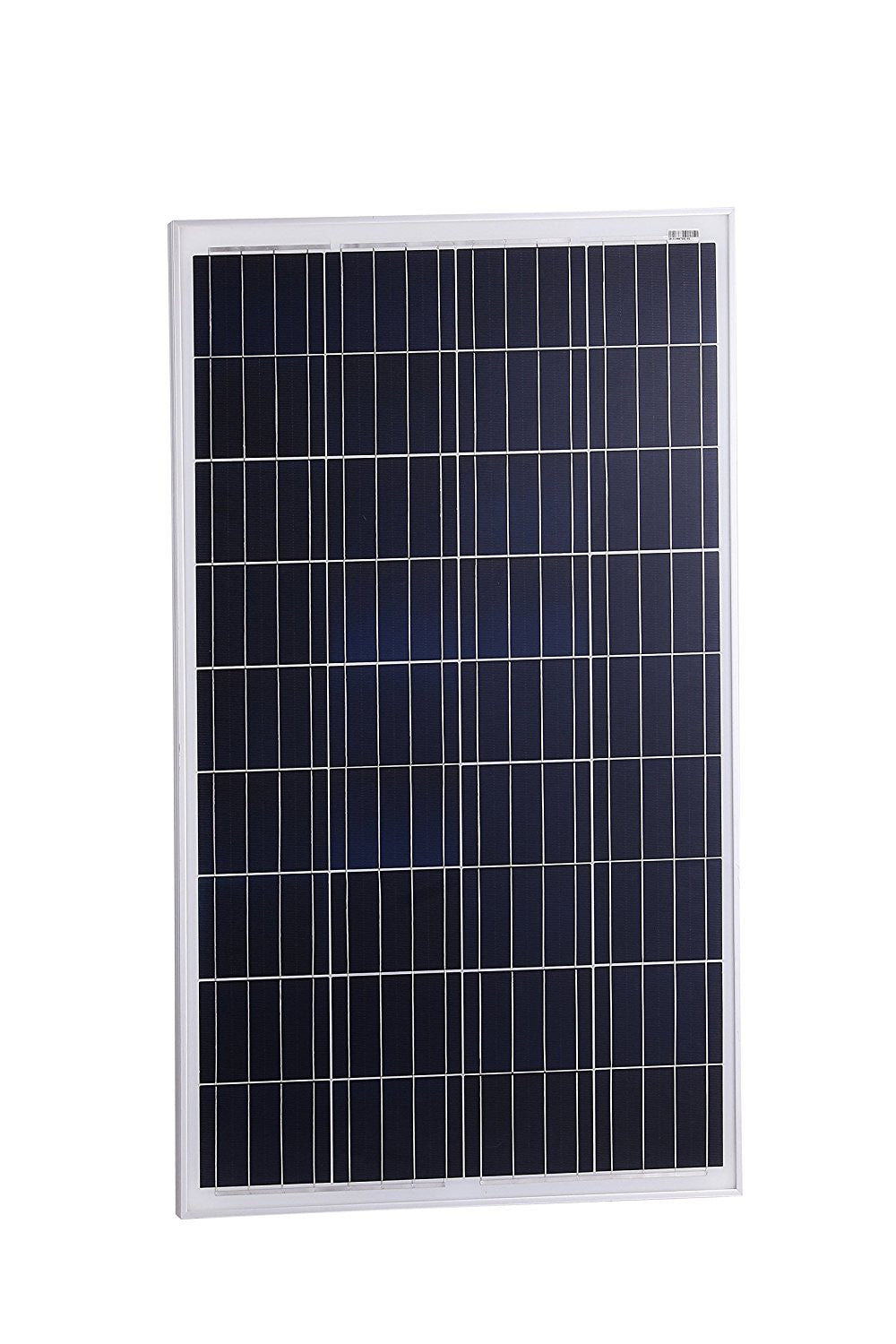 100-Watt Solar Panel for 12-Volt Battery Charging