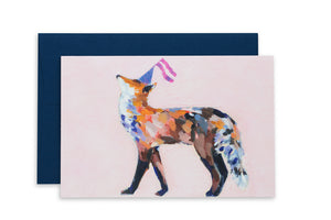 Load image into Gallery viewer, Party Fox | Ashforth Press Blank Card