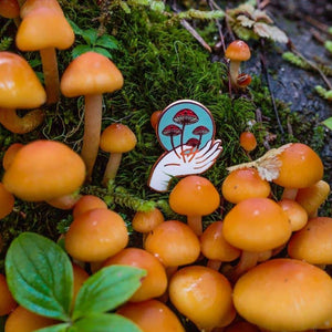 Nurture Nature Pin