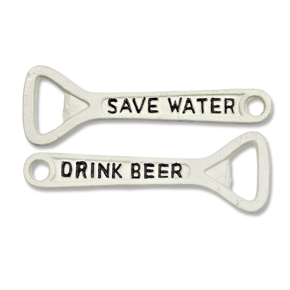 'Save Water, Drink Beer' Bottle Opener