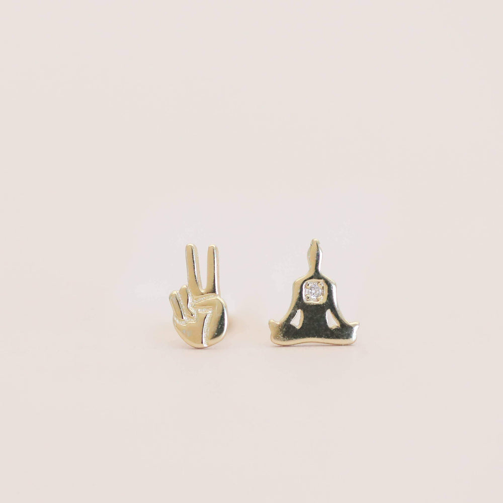 Zen Stud Earrings
