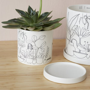 Load image into Gallery viewer, Plant Lady Pot