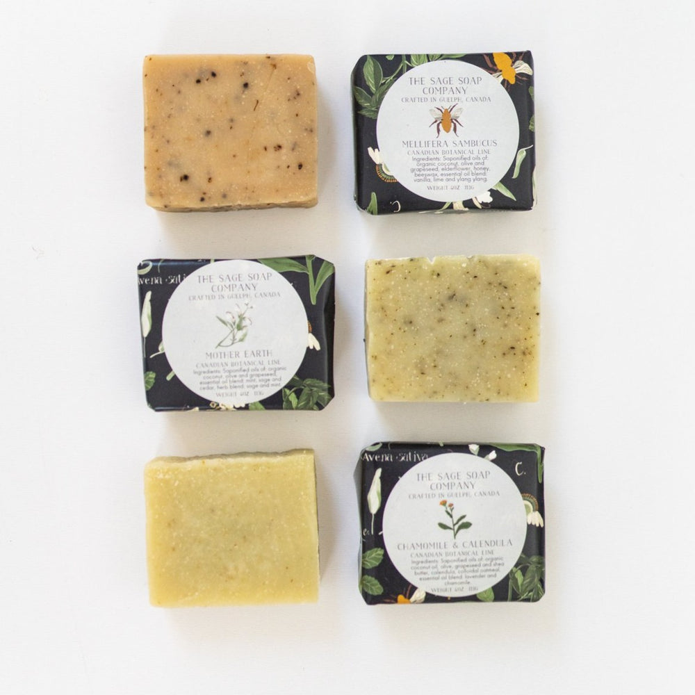 Canadian Botanical Soap Line by the Sage Soap Co.