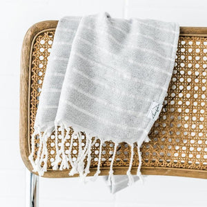 Mini Turkish Towel - Stone