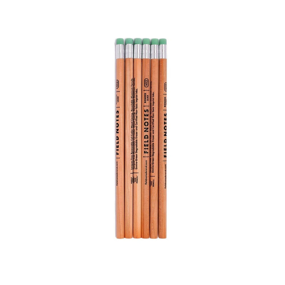 Load image into Gallery viewer, No. 2 Woodgrain Pencil 6 Pack