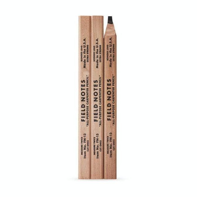 Carpenter Pencils- Package of 3