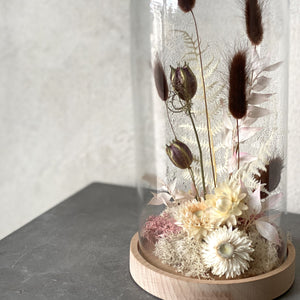 Dried Floral Cloche