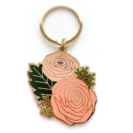 Load image into Gallery viewer, Ranunculus Keychain