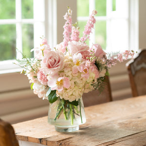 Load image into Gallery viewer, Pink Cloud Vase Arrangement