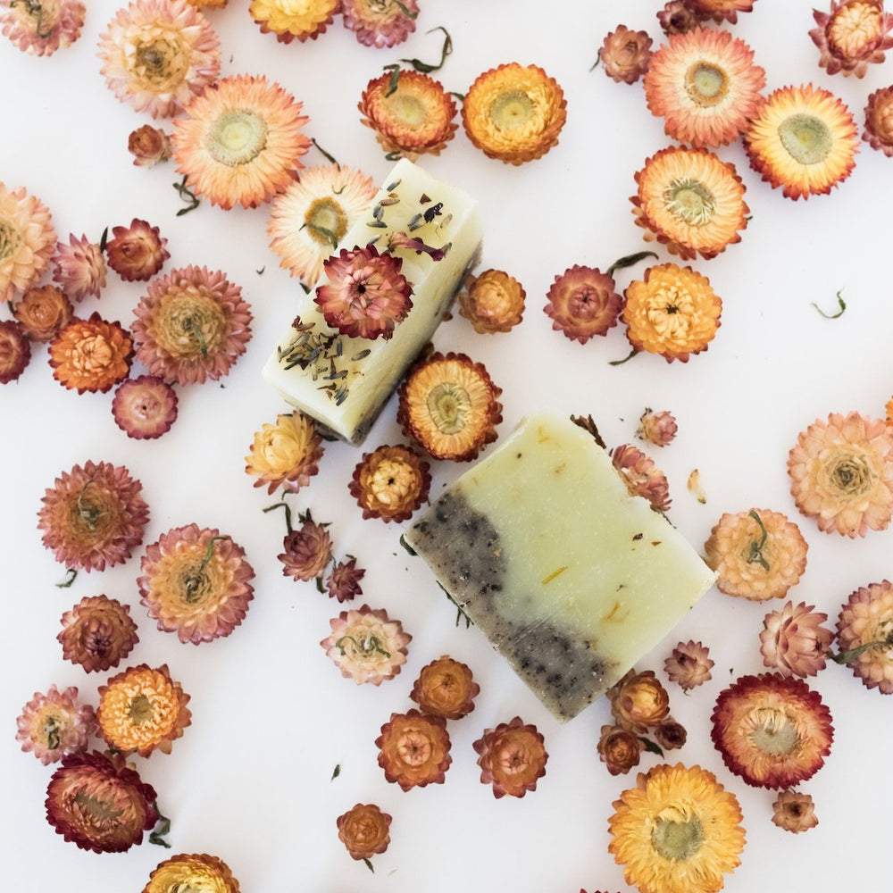 Load image into Gallery viewer, Blooms + Flora x Sage Soap Co. Bar Soap
