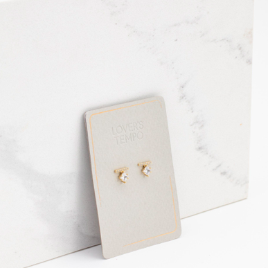 Load image into Gallery viewer, Vale Stud Earrings