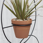 Plantie - Modern Plant Hanger with Terracotta Pot
