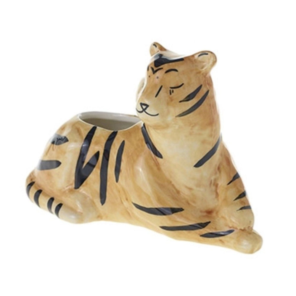 Untamed Tiger Mini Pot