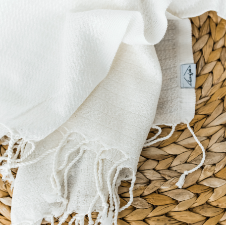 Oversized Turkish Towel - Dove