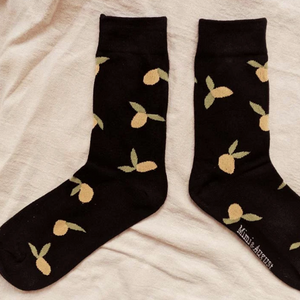 Lemons Cotton Socks