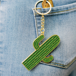 Load image into Gallery viewer, Cactus Keychain