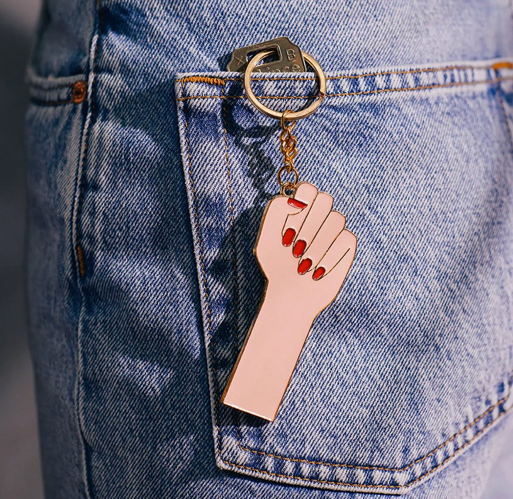 Womxn Power Keychain