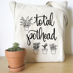 Load image into Gallery viewer, Total Pothead Tote Bag