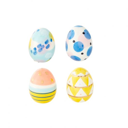 Artistic Eggs - Set of 4