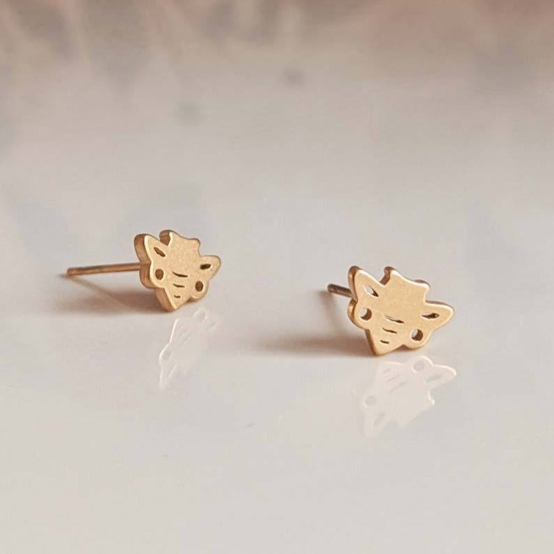 Honey Bees Stud Earrings