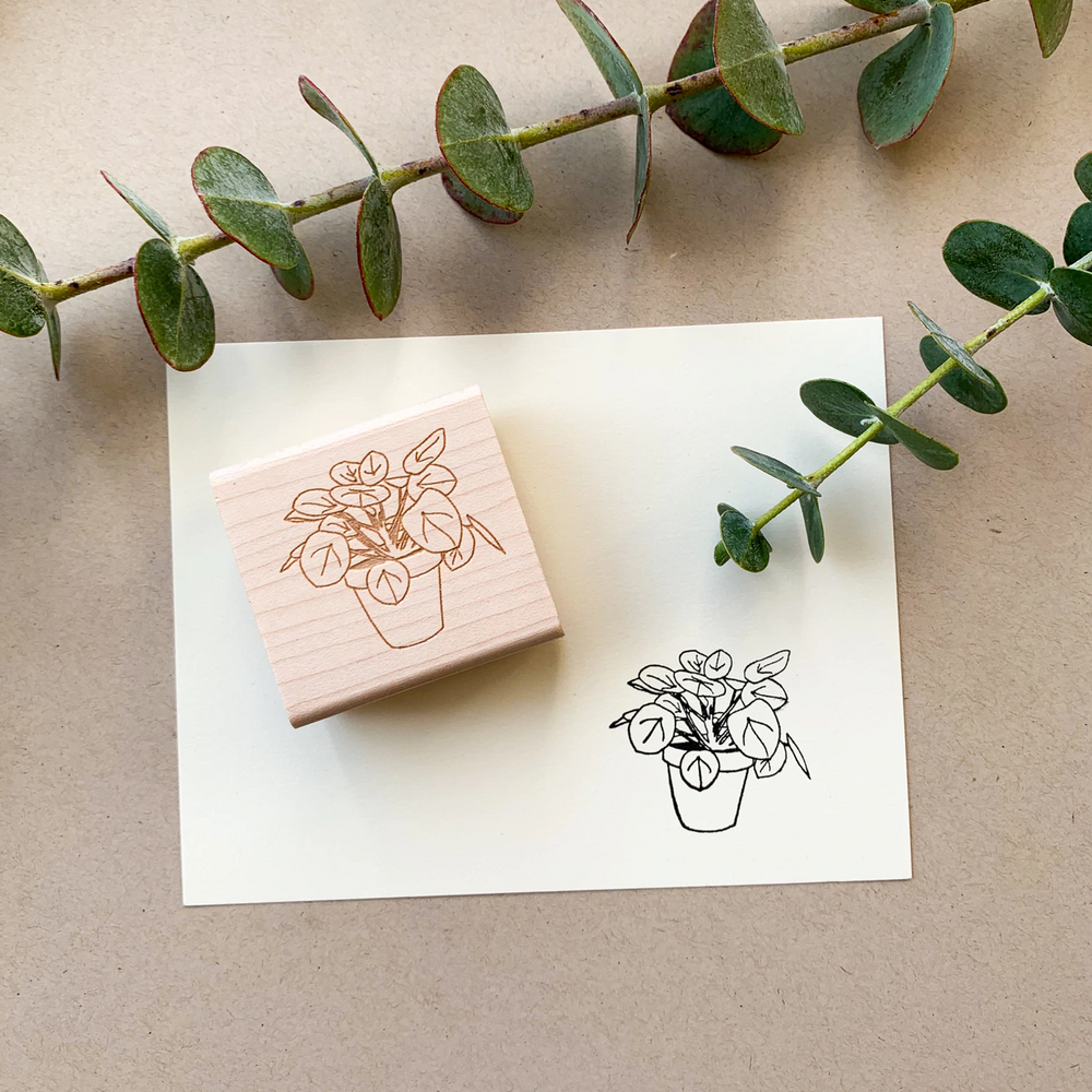 Load image into Gallery viewer, Pilea Stamp