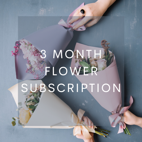 Load image into Gallery viewer, 3 Month Flower Subscription