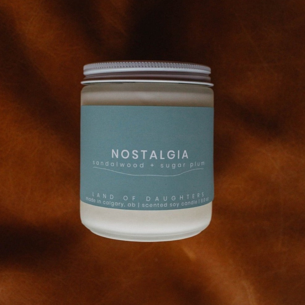 Nostalgia Hand Poured Soy Candle