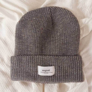 Load image into Gallery viewer, Grey Speckled | Classic Beanie
