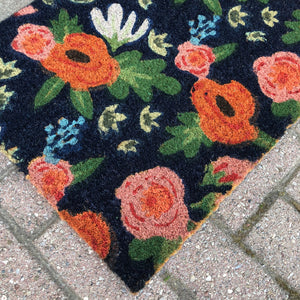 Load image into Gallery viewer, Botanical Pattern Doormat