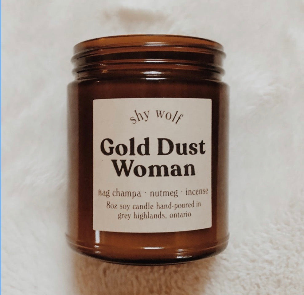 Gold Dust Woman Candle