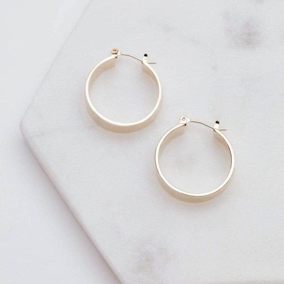 Load image into Gallery viewer, Chloe Hoop Earrings