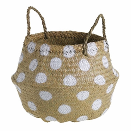 Load image into Gallery viewer, Polka Dot Basket