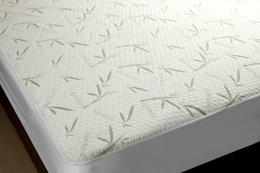 Bamboo Premium Mattress Protector - Soft and Comfortable, Waterproof with Fitted Skirt