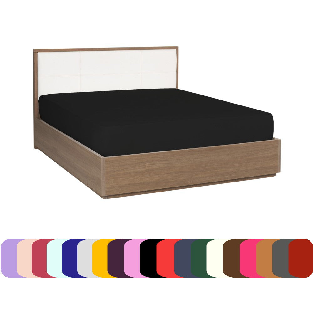 Fitted Sheet - Dark Colors - Soft and Comfortable 1800 Prestige Brushed Microfiber Collection