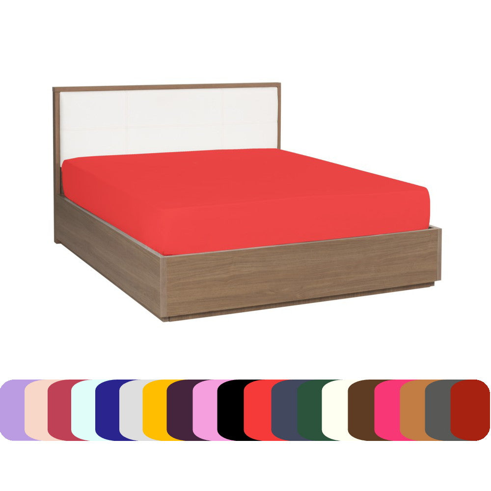 Fitted Sheet - Bright Colors - Soft and Comfortable 1800 Prestige Brushed Microfiber Collection