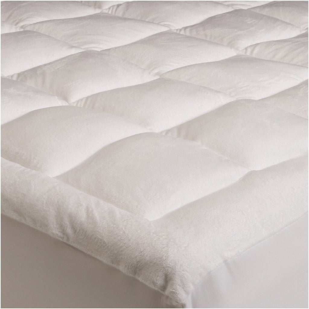 Microplush Mattress Topper - Soft and Cozy - Generously Filled for Extra Comfort