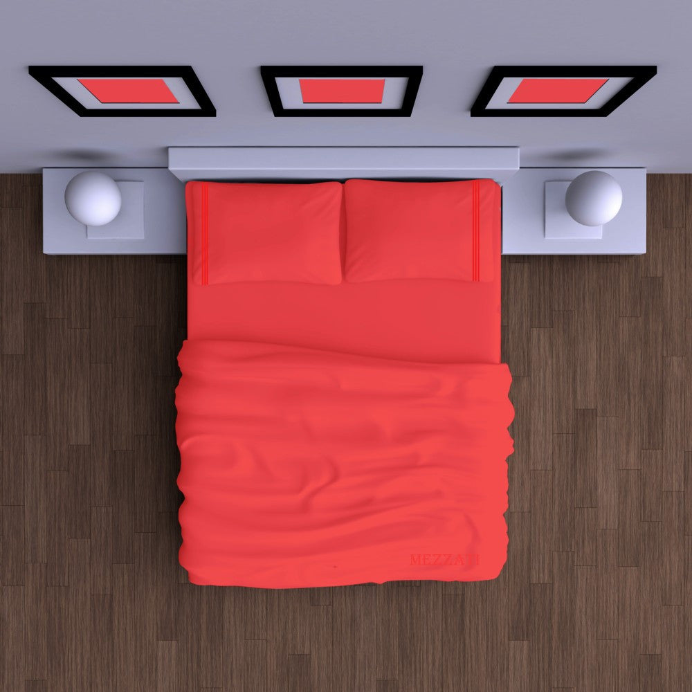 ... Bed Sheet Set   Bright Colors   Soft And Comfortable 1800 Prestige  Brushed Microfiber Collection
