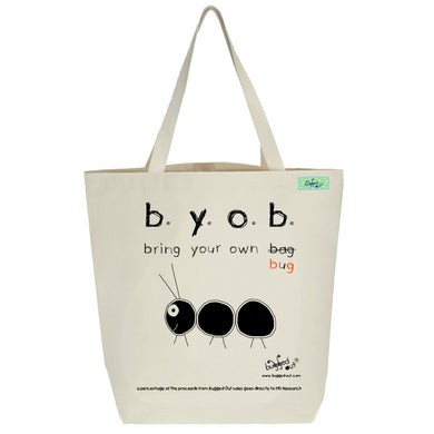 Bugged Out ant tote bag