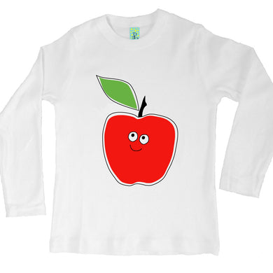 Bugged Out apple long sleeve kids t-shirt