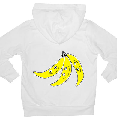 Bugged Out banana kids hoodie